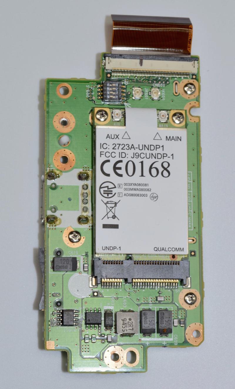 Hon Hai J9C-GOBI Embedded WWAN Module Teardown